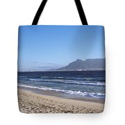Sea With Table Mountain Tote Bag