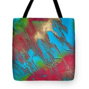 Seabreeze Abstract Painting Tote Bag