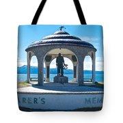 Seafarer's Memorial On Homer Spit-ak Tote Bag