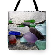 Seaglass And Seaweed Tote Bag