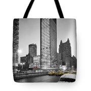Seagram Building Tote Bag