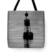 Seagull And Buoy Tote Bag