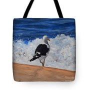 Seagull And Surf Tote Bag