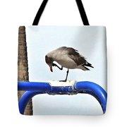 Seagull Balancing Act Tote Bag