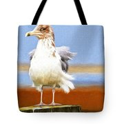 Seagull Colors Tote Bag