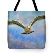 Seagull In The Storm Tote Bag