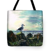 Seagull Lookout Tote Bag