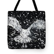 Seagull - Oil Portrait Tote Bag