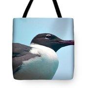 Seagull Portrait Tote Bag