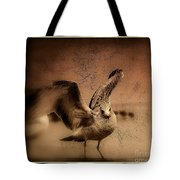Seagull Ready To Fly Tote Bag