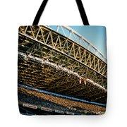 Seahawks Stadium 3 Tote Bag