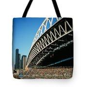 Seahawks Stadium 5 Tote Bag