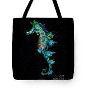 Seahorse II Underwater Ripple Tote Bag