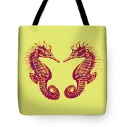 Seahorses In Love Tote Bag