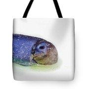Seal On White Tote Bag