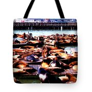 Seal Wharf Tote Bag