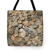 Seamless Background Gravel Stones Tote Bag