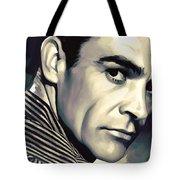 Sean Connery Artwork Tote Bag