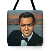 Sean Connery As James Bond Tote Bag