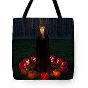Seance Pumpkins Demon Tote Bag