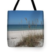 Seaoats And Beach Tote Bag