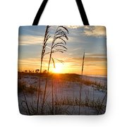 Seaoats Sunrise Tote Bag