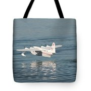Seaplane Liftoff Tote Bag