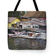 Seaplane Parking Tote Bag