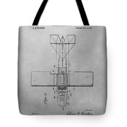 Seaplane Patent Drawing Tote Bag