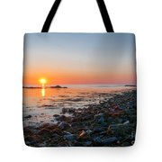 Seapoint Beach In  Kittery Point Maine Tote Bag