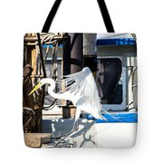 Searching For Free Fish Tote Bag