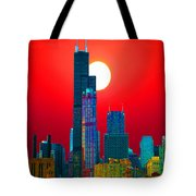 Sears Tower Willis Tower Chicago Tote Bag
