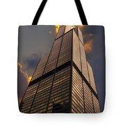 Sears Willis Tower Tote Bag