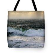 Seascape 1b The Sound  Tote Bag