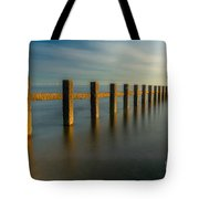 Seascape Wales Tote Bag
