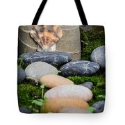Seashell In The Garden Iv Tote Bag