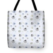 Seashell Pattern Tote Bag