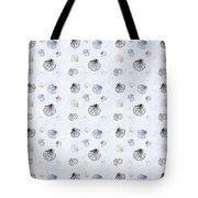 Seashell Pattern Tote Bag