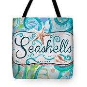 Seashells IIi Tote Bag