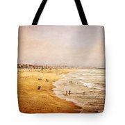 Seashore At Manhattan Beach Tote Bag