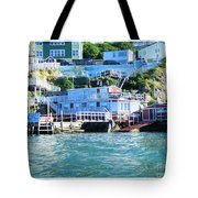 Seaside B And B Tote Bag