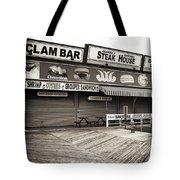 Seaside Clam Bar Tote Bag