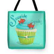 Seaside Cupcakes Tote Bag by Catherine Holman