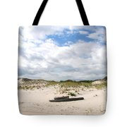 Seaside Driftwood And Dunes Tote Bag