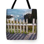 Seaside Fence Tote Bag