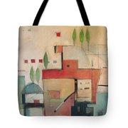 Seaside Villa Tote Bag