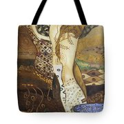 Seasnakes And Squiggles Tote Bag