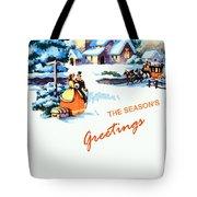Season Greetings Tote Bag