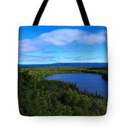 Season Of Blue And Green Tote Bag