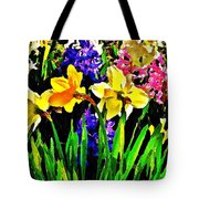 Seasonal Characters  Tote Bag by Chris Berry